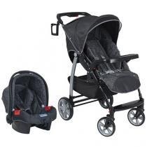 Carrinho de Bebê e Bebê Conforto Burigotto - Tempus Valência para Crianças até 15 kg