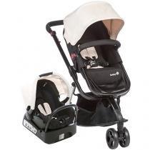 Carrinho de Bebê e Bebê Conforto Safety 1st - Mobi Reclinável Assento Reversível 3 Posições