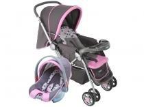 Carrinho de Bebê e Berço Passeio Cosco Travel  - System Reverse p/ Crianças até 15kg