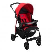 Carrinho de Bebê Ecco 4 Posições Vermelho Burigotto -