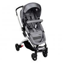 Carrinho de Bebê Eclipse 3 Posições Alumínio Cinza Lenox Kiddo - Lenox