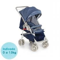 Carrinho de Bebê Galzerano Maranello II - Azul -