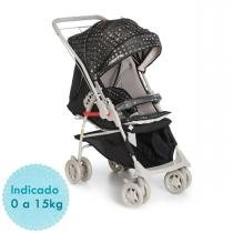 Carrinho de Bebê Galzerano Maranello II e Bebê Conforto Cocoon - Preto - Galzerano