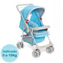 Carrinho de Bebê - Galzerano - Milano Reversível - Azul -