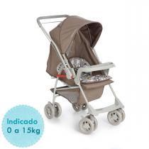 Carrinho de Bebê Galzerano Milano Reversível II - Panda -