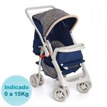 Carrinho de Bebê - Galzerano - Pegasus - Azul Marinho -
