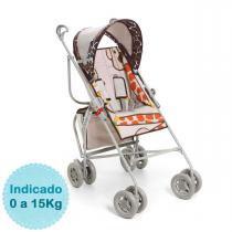 Carrinho de Bebê - Galzerano - Reversível - Girafas -