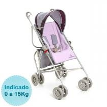 Carrinho de Bebê - Galzerano - Reversível - Lilás -