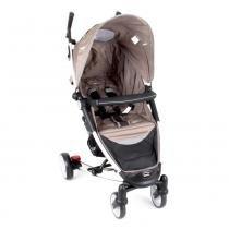 Carrinho de Bebê Helios Alumínio Lenox Multi Posições Capuccino -