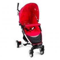 Carrinho de Bebê Helios Alumínio Lenox  Multi Posições Vermelho -