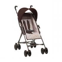 Carrinho de Bebê Hercules Passeio - Marrom Glacê - Neutra -