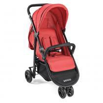 Carrinho de bebê Jogger 3 Rodas Jogger Weego Vermelho - 4019 -