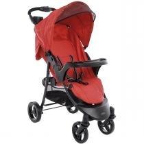 Carrinho de Bebê Kiddo Omega - Vermelho -