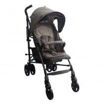 Carrinho de Bebê Lite Way Basic 2 Bege Com 5 Posições e Barra de Proteção - Chicco