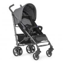 Carrinho de Bebê Lite Way Basic 2 Coal Com 5 Posições e Barra de Proteção - Chicco