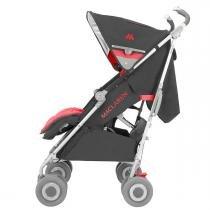 Carrinho de Bebê Maclaren Techno XLR - Charcoal Scarlet - Neutra - MacLaren