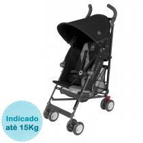 Carrinho de Bebê Maclaren Triumph - Charcoal Black -