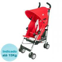 Carrinho de Bebê Maclaren Triumph - Medieval Scarlet - Neutra - MacLaren