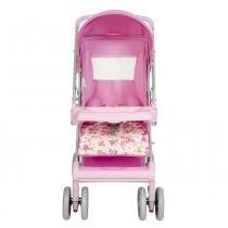 Carrinho de Bebê Magni 04800.29 Rosa Princesa - Tutti Baby - Tutti Baby