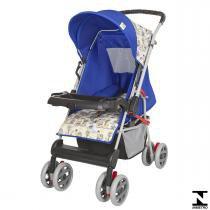 Carrinho De Bebê Magni Azul Príncipe 04800.28 Tutti Baby - Tutti Baby