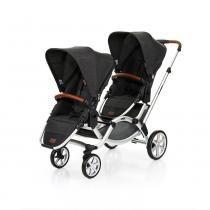 Carrinho de Bebê Para Gêmeos ABC Design Zoom Piano (6 Meses a 30kg) -