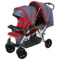 Carrinho de Bebê para Gêmeos Doppio 1385 Galzerano -