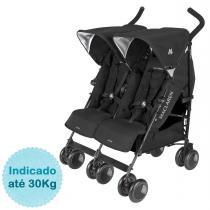 Carrinho de Bebê para Gêmeos Twin Techno Maclaren - Black -