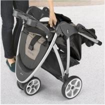 Carrinho de Bebê Para Passeio Cinza Anthracite Bra Neuvo - Chicco -