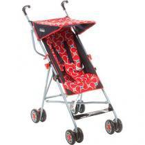 Carrinho de Bebê Para Passeio, Vermelho Rosso , Umbrella Linea, B8 - Voyage