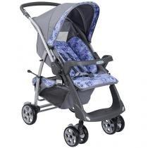 Carrinho de Bebê Passeio Burigotto - Rio Plus Reversível 2053 Reclinável 3 Posições