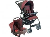 Carrinho de Bebê Passeio Burigotto Travel System - Rio K Reclinável 4 Posições para Crianças até 15kg