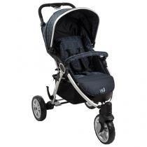 Carrinho de Bebê Passeio Burigotto W3 - 3 Posições Reclinável para Crianças até 15kg