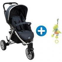 Carrinho de Bebê Passeio Burigotto W3 - para Crianças até 15kg + Pelúcia Baby Fehn