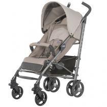 Carrinho de Bebê Passeio Chicco  - Lite Way Basic 2 Sand 5 Posições