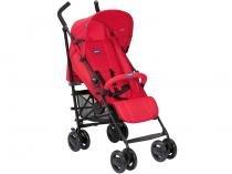 Carrinho de Bebê Passeio Chicco London - Red Passion Reclinável 4 Posições