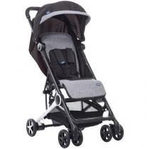Carrinho de Bebê Passeio Chicco Miinimo Black - Night Reclinável para Crianças até 15kg