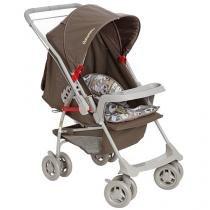 Carrinho de Bebê Passeio Galzerano Milano - Reversível Panda p/ Crianças até 15kg