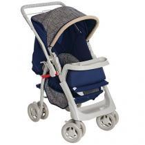 Carrinho de Bebê Passeio Galzerano Pegasus - Reclinável 4 Posições para Crianças até 15Kg