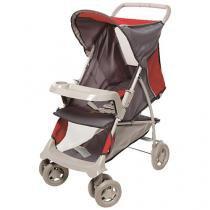 Carrinho de Bebê Passeio Galzerano Realy - Reclinável com Bandeja Removível