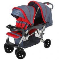 Carrinho de Bebê Passeio Galzerano Reclinável - 3 Posições para Crianças até 15Kg