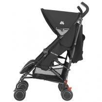 Carrinho de Bebê Passeio Maclaren Quest Black - com Bandeja para Crianças com até 15Kg