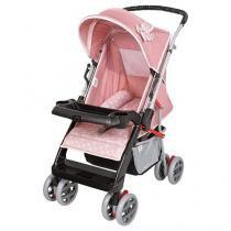 Carrinho de Bebê Passeio Tutti Baby Thor - Reclinável 4 Posições para Crianças até 15kg