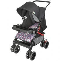 Carrinho de Bebê Passeio Tutti Baby Tithus - Reclinável 4 Posições para Crianças até 15kg