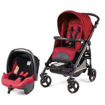 Carrinho de Bebê Peg Pérego Easy Drive com Primo Viaggio Sl - Marte -