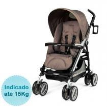 Carrinho de Bebê Peg Pérego Pliko P3 Compact - Geo - Neutra - Peg Pérego