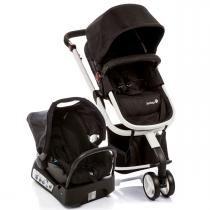 Carrinho de Bebê Safety 1st Travel System Mobi - Black e White -