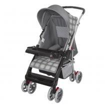 Carrinho de Bebê Thor 03900.26 Cinza New - Tutti Baby - Tutti Baby