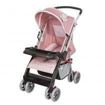 Carrinho de Bebê Thor 03900.36 Rosa Coroa - Tutti Baby - Tutti Baby