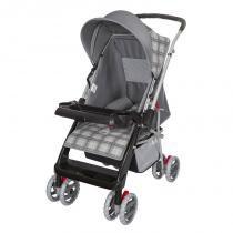 Carrinho de Bebê Thor - Tutti Baby - Cinza New - Tutti Baby