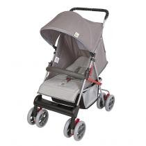 Carrinho de Bebê Tithus 03600.27 Cinza - Tutti Baby - Tutti Baby